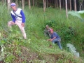 140420 Clearing grass at teaks area 2