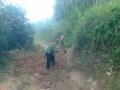 140528 Repairing road near Manggo area