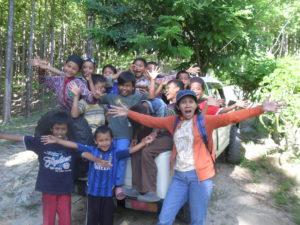 Children in Kebun